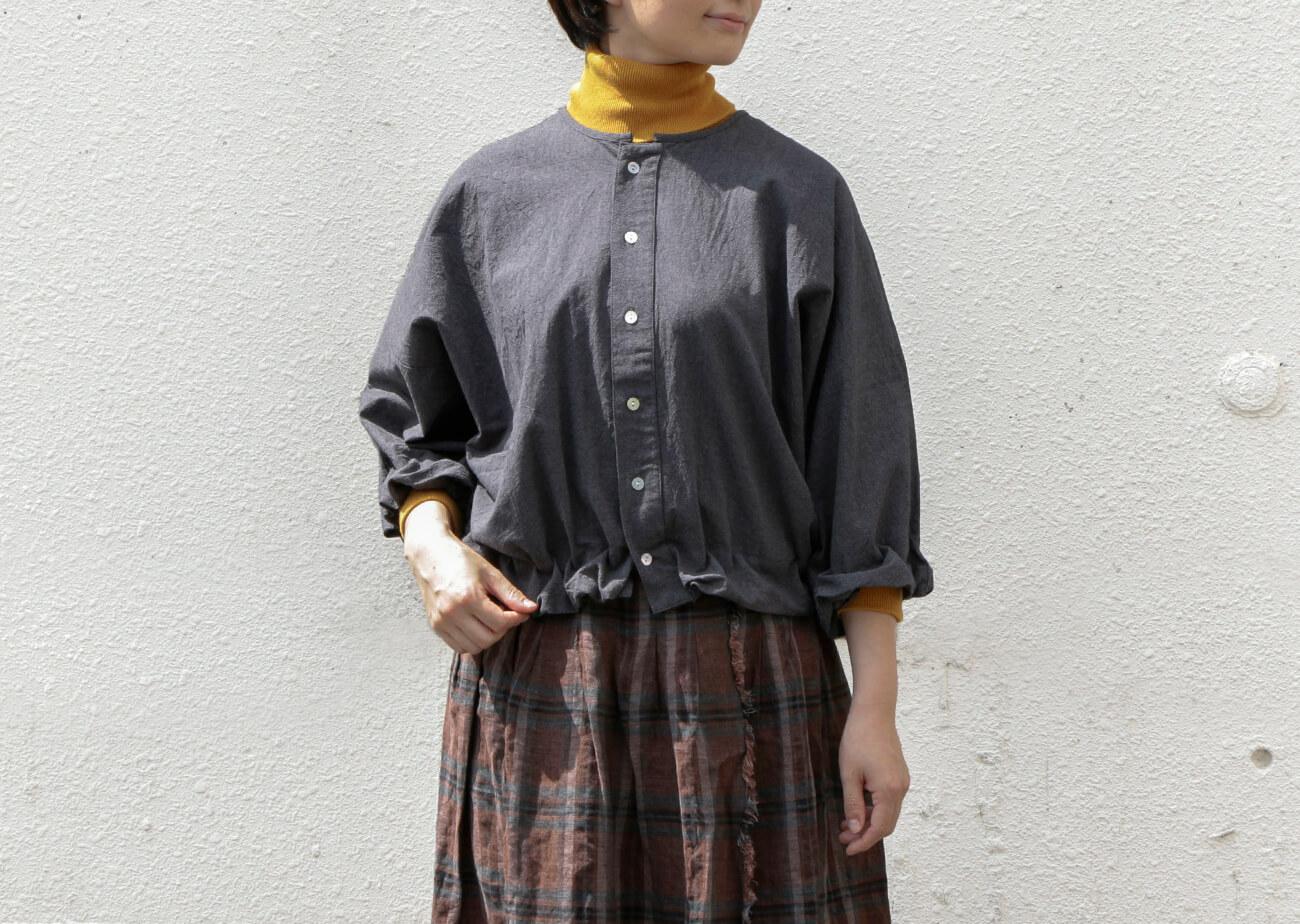 "mumokuteki×08Mab / コットン2WAYバルーンプルオーバー特集2"" width="