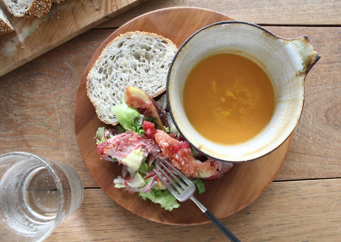 """のらくら農場 / 野菜農家が作った野菜と玄米のスープ(かぼちゃ・じゃがいも・人参)特集1"""" width="""